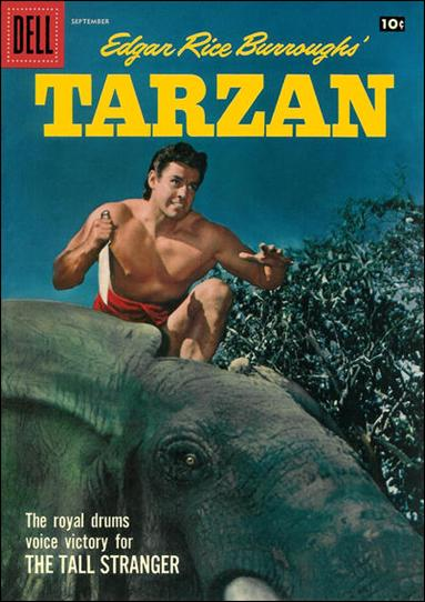 Tarzan (1948) 96-A by Dell