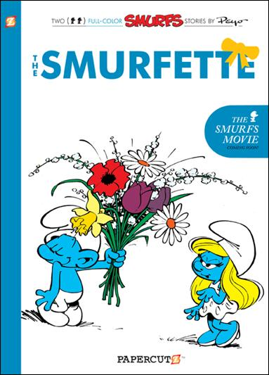 Smurfs 4-A by Papercutz