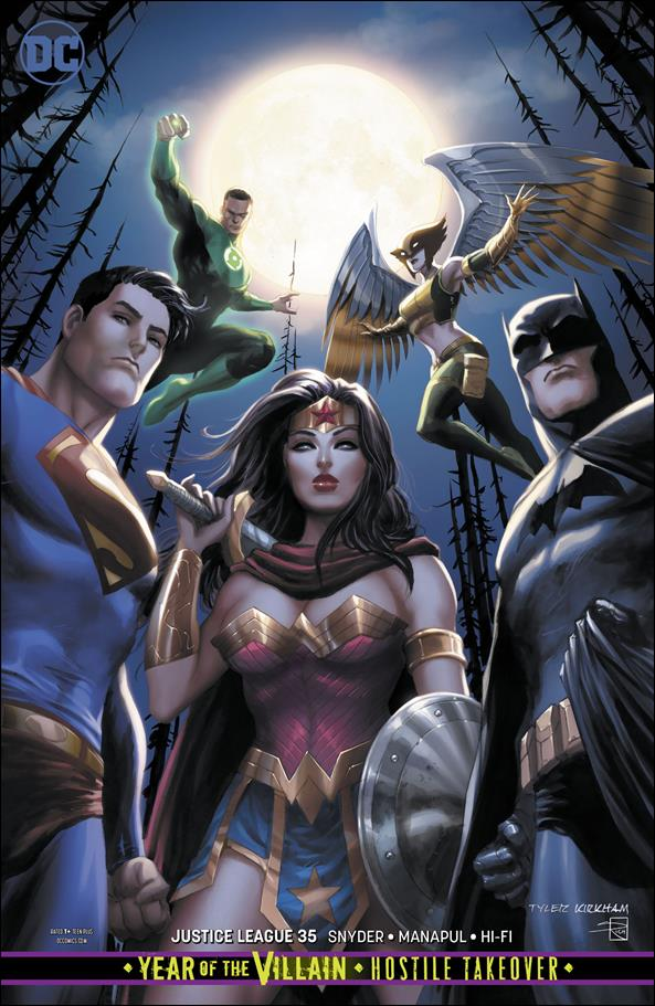 Justice League (2018) 35-B by DC