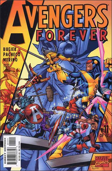 Avengers: Forever 11-A by Marvel