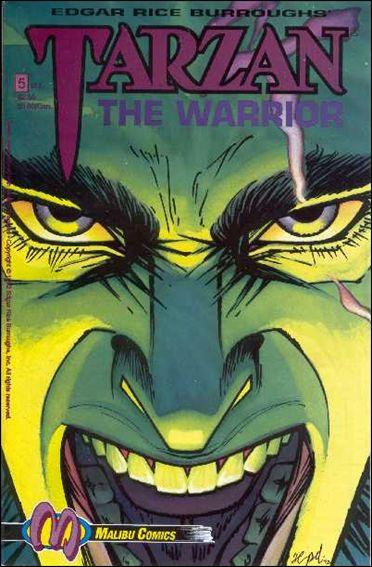 Tarzan the Warrior 5-A by Malibu