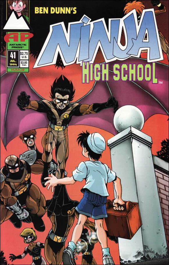 Ninja High School 41-A by Antarctic Press