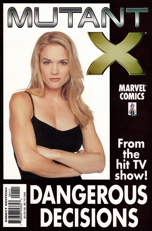 Mutant X: Dangerous Decisions 1-A by Marvel