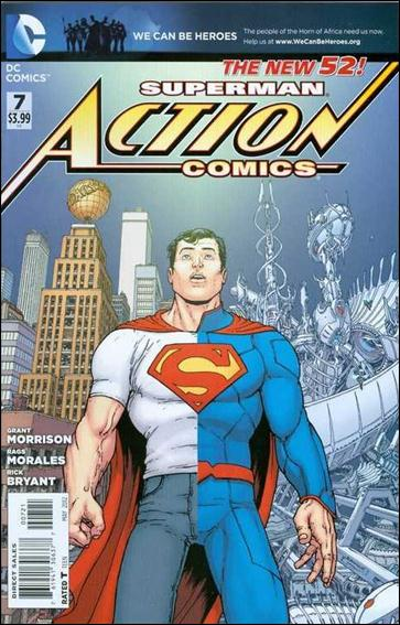 Action Comics (2011) 7-D by DC