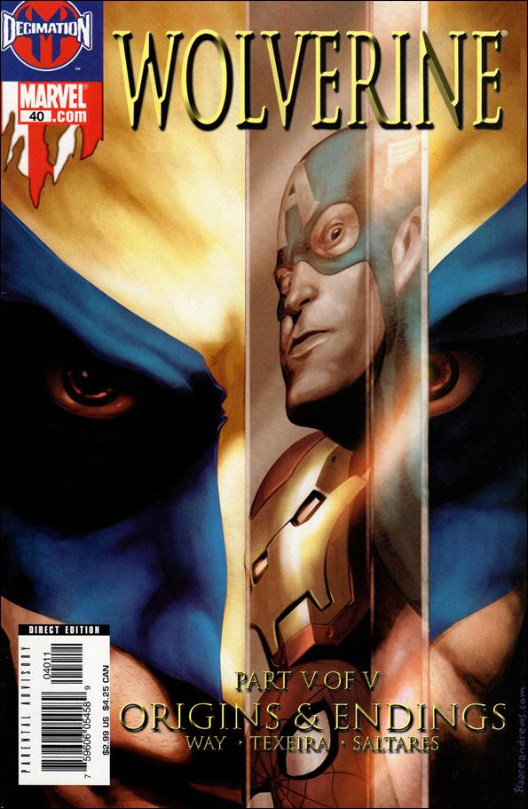Wolverine (2003)  40-A by Marvel