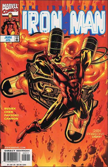 Iron Man (1998) 5-A by Marvel