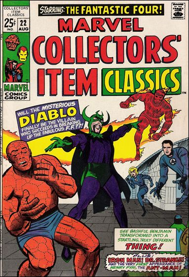 Marvel Collectors' Item Classics 22-A by Marvel