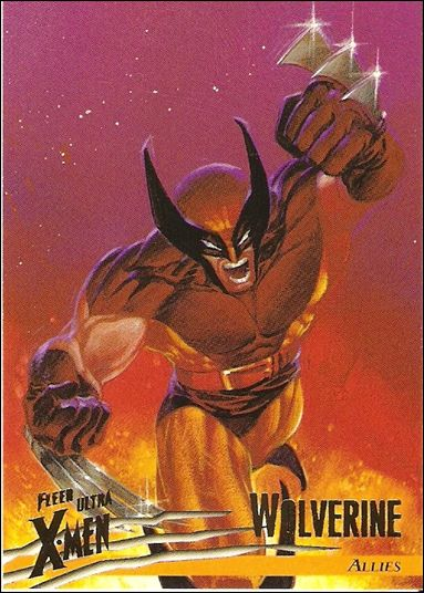 1996 Fleer Ultra X-Men: Wolverine (Base Set) 37-A by Fleer