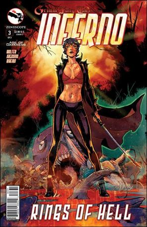 Grimm Fairy Tales Presents Inferno: Rings of Hell 3-C