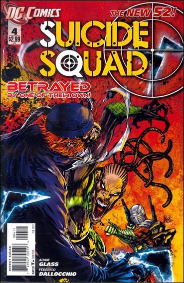 Suicide Squad (2011) 4-A by DC