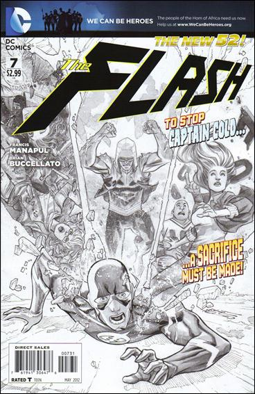 Flash (2011) 7-C by DC