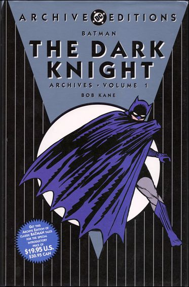 Batman: The Dark Knight Archives 1-C by DC