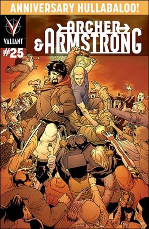 Archer & Armstrong (2012) 25-C