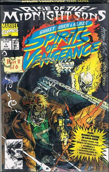 Ghost Rider/Blaze: Spirits of Vengeance 1-C by Marvel