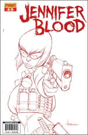 Jennifer Blood 5-G by Dynamite Entertainment