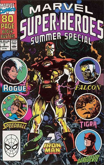 Marvel Super-Heroes (1990) 2-A by Marvel