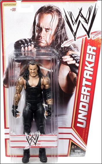 WWE Superstars (2012) Undertaker by Mattel