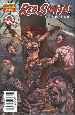 Red Sonja 22-A by Dynamite Entertainment