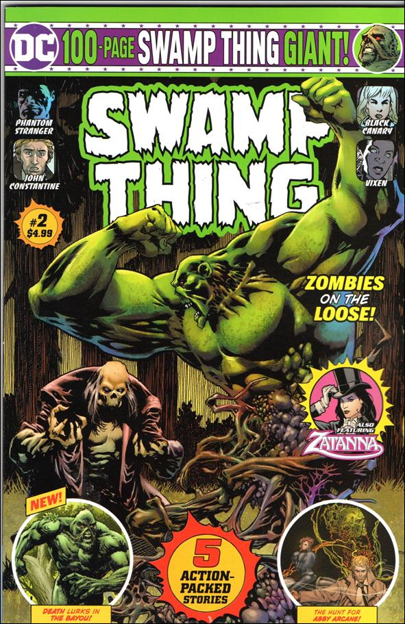 Swamp Thing Giant  (08/2019) 2-A by DC