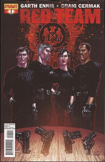 Red Team 1-B by Dynamite Entertainment