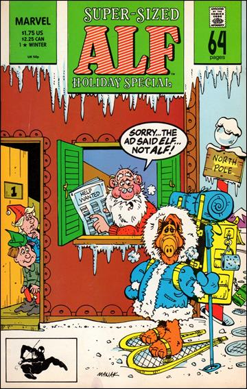 Alf Holiday Special 1-A by Marvel