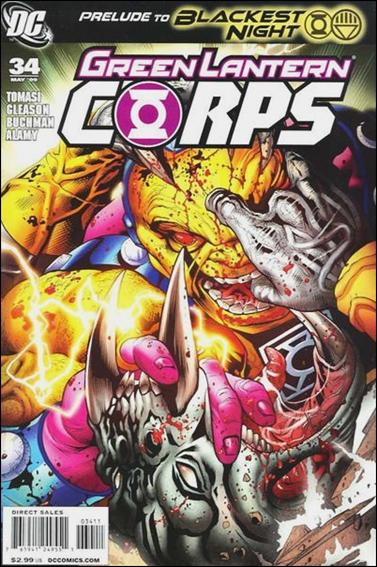 Green Lantern Corps (2006) 34-A by DC