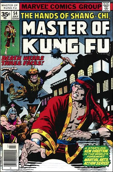 Master of Kung Fu 54-B by Marvel