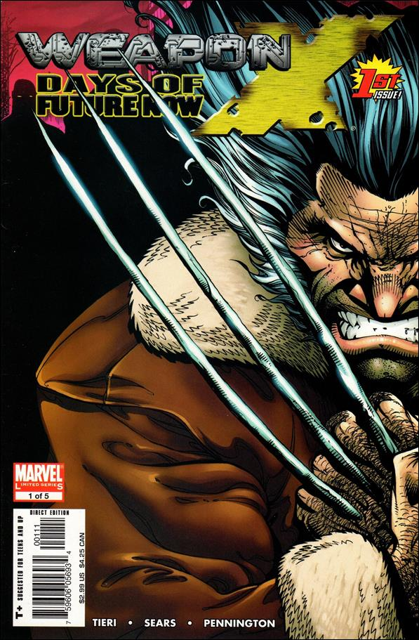 Weapon X: Days of Future Now 1-A by Marvel