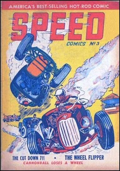 Speed Comics (Australia) 3-A by Transport Publishing