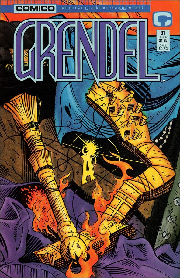 Grendel (1986) 31-A by Comico