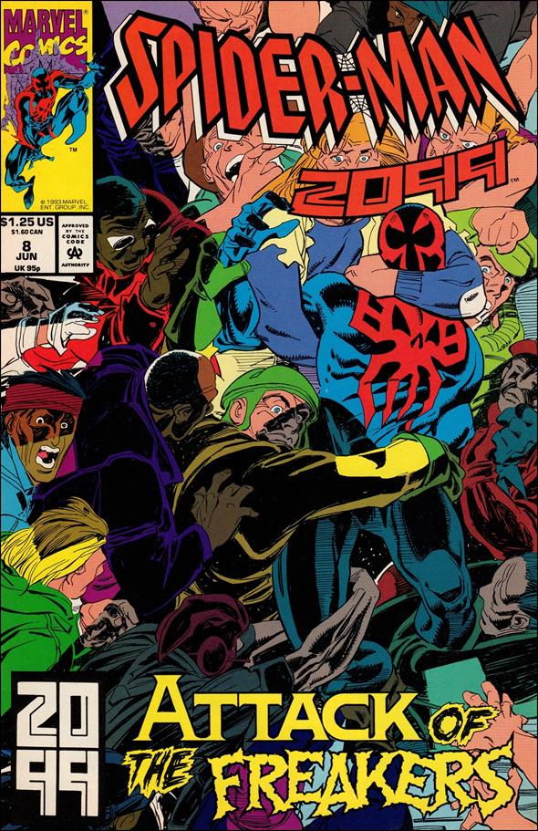 Spider-Man 2099 (1992) 8-A by Marvel