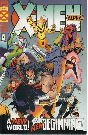 X-Men Alpha 1-B by Marvel