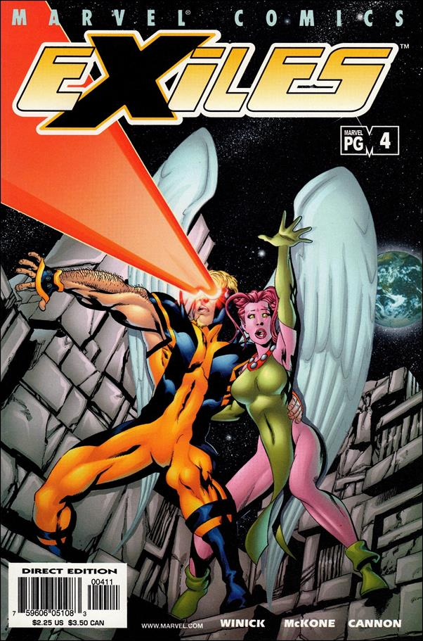 Exiles (2001) 4-A by Marvel