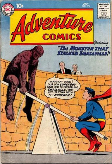 Adventure Comics (1938) 274-A by DC