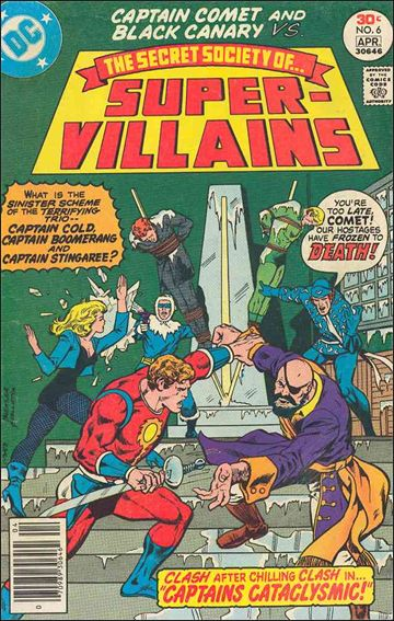 Secret Society of Super-Villains 6-A by DC