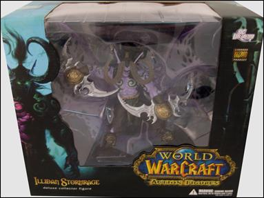 World of Warcraft (Deluxe Figures) Illidan Stormrage by DC Direct