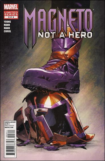 Magneto: Not a Hero 3-A by Marvel