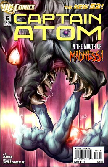 Captain Atom (2011) 5-A by DC