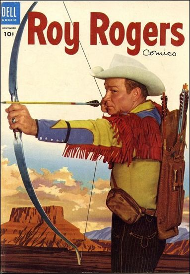 Roy Rogers Comics 83-A by Dell
