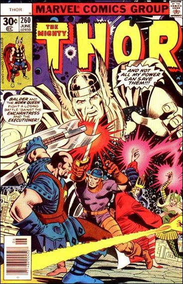 Thor (1966) 260-A by Marvel