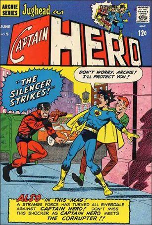Jughead as Captain Hero 5-A