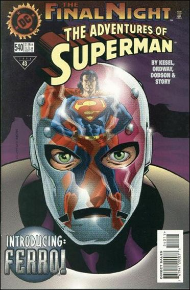 Adventures of Superman (1987) 540-A by DC