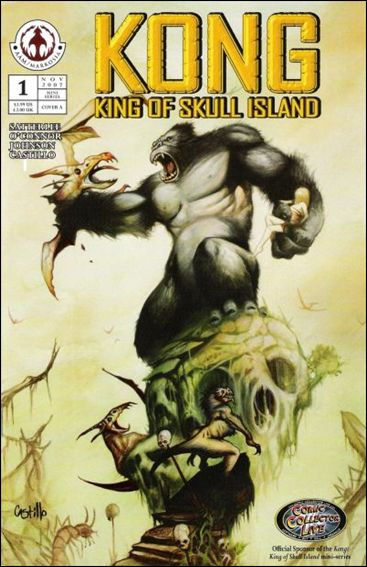 Kong: King of Skull Island 1-A by Markosia