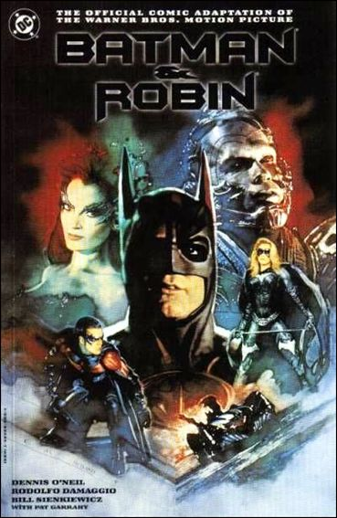 Batman and Robin: The Official Comic Adaptation of the Warner Bros. Motion Picture 1-B by DC
