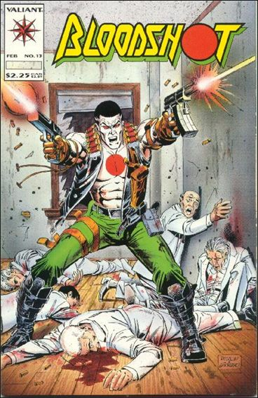 Bloodshot (1993) 13-A by Valiant