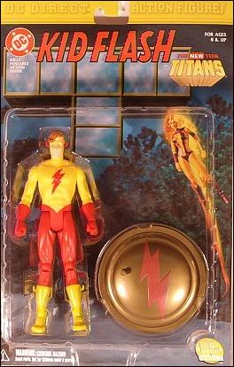 New Teen Titans Kid Flash (Wally West) by DC Direct
