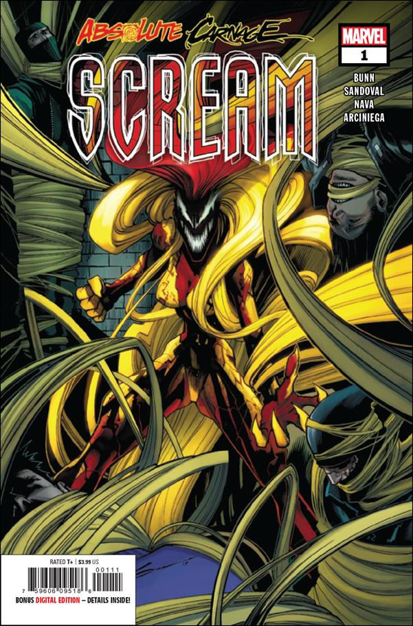 Absolute Carnage: Scream 1-A by Marvel