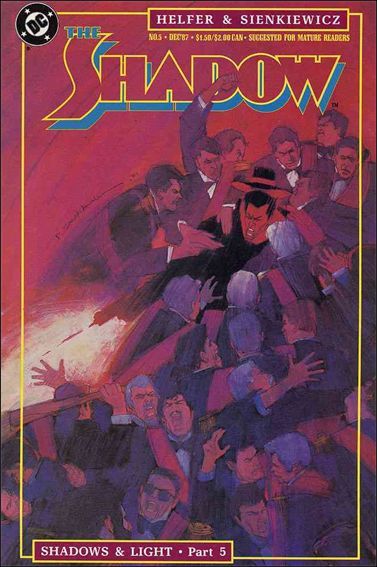 Shadow (1987) 5-A by DC