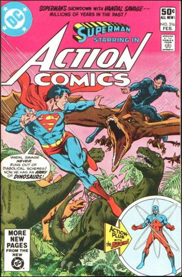 Action Comics (1938) 516-A by DC