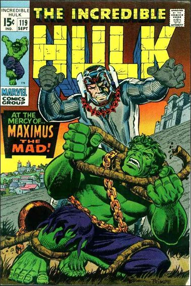 Incredible Hulk (1968) 119-A by Marvel